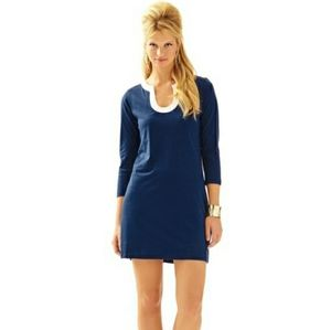 Lilly Pulitzer | Navy Marlina T-Shirt Dress (XL)